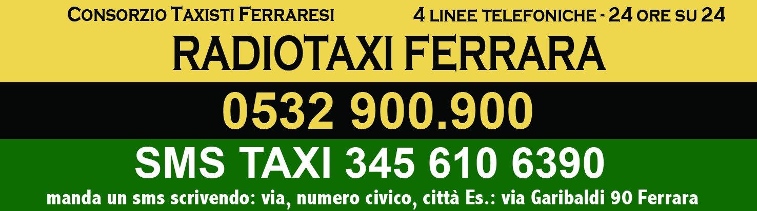 taxi ferrara 12,5x3,3 - GIORNALE
